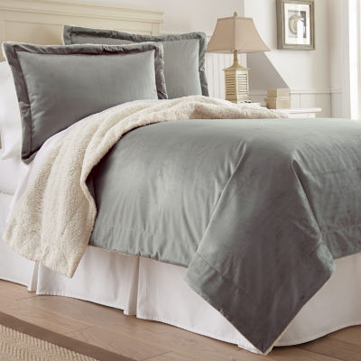 Faux Micro Mink Sherpa 3-pc Comforter Set 69% OFF at JCPenney.com!!!