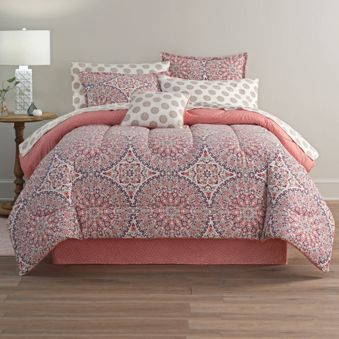 Get Home Expressions Callista Bohemian Reversible Complete Bedding Set with Sheets for 69% off at JCPenney's!!!