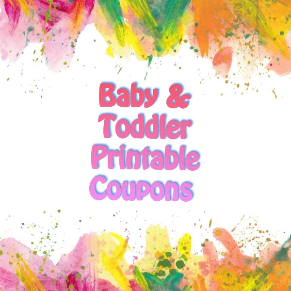 Baby and Toddler Coupons! Diapers, Wipes, Pull-Ups and MORE!!