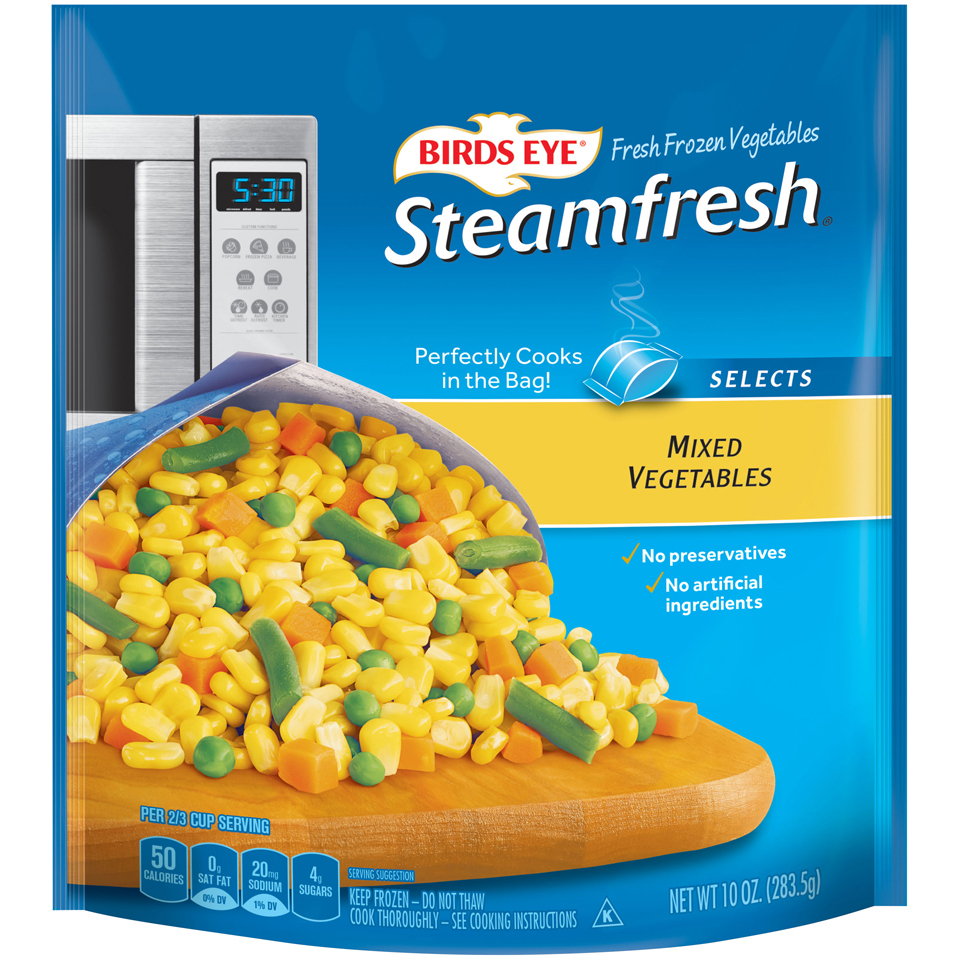 Birds Eye SteamFresh Frozen Veggies Only $0.74 at Target! Cartwheel Deal!!