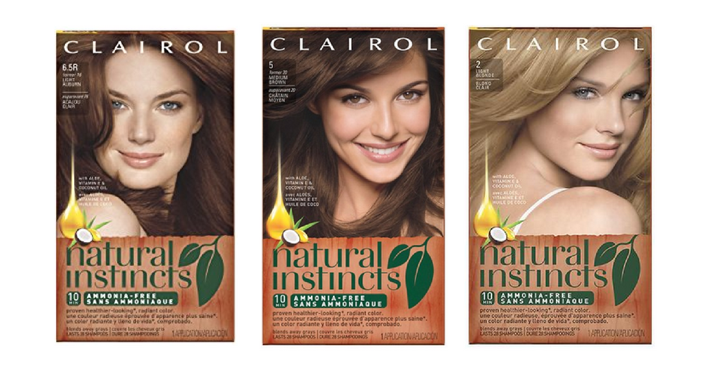 GO! Clairol Natural Instinct Hair Color Deal at CVS!