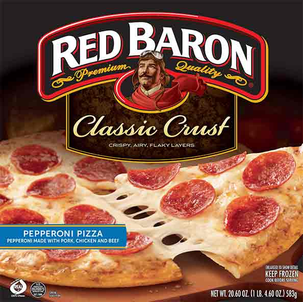 Red Baron Pizza for $1.99 at Ralphs