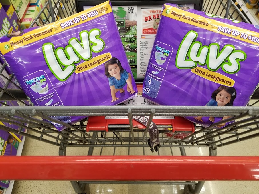 HOT DEAL!!! Luvs Diapers for $3.99 with a Digital at King Soopers!