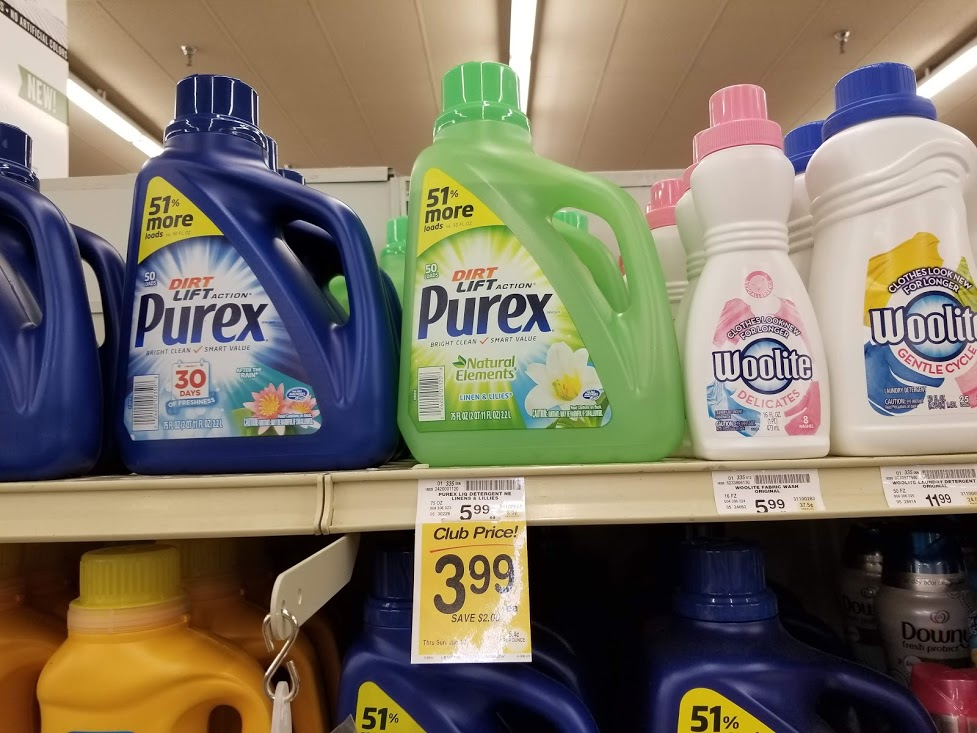 Purex Laundry Detergent for $2.24 at Safeway with Printable!
