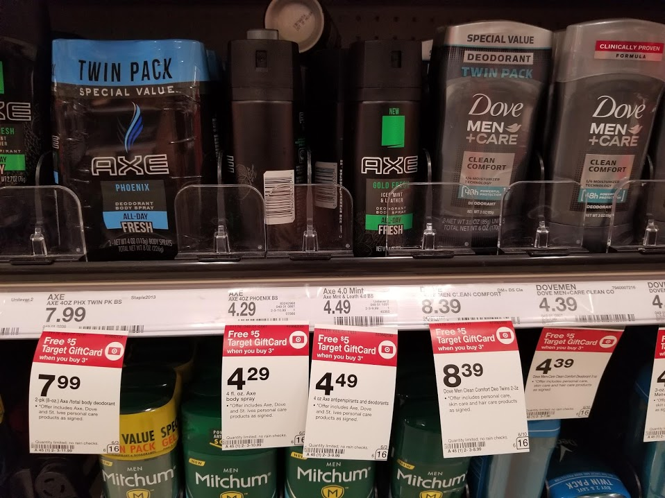 AXE Deodorant Dry Spray for as LOW as $0.53 at Target!!!