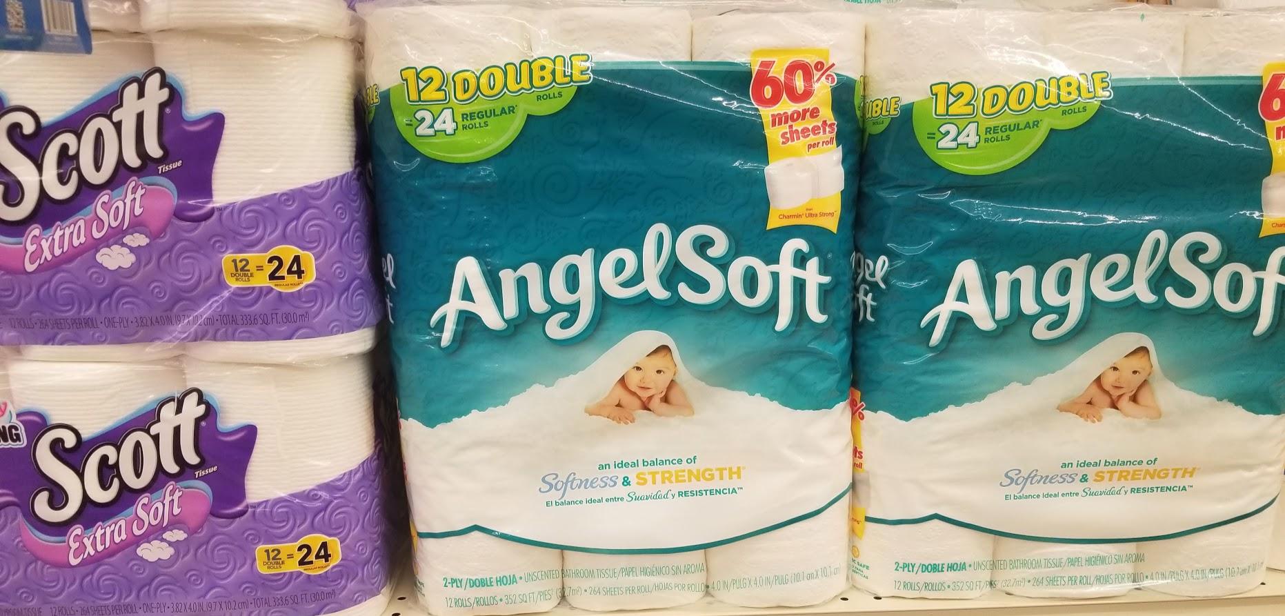Angel Soft Bath Tissue Printable Coupon Deal at Walgreens!!