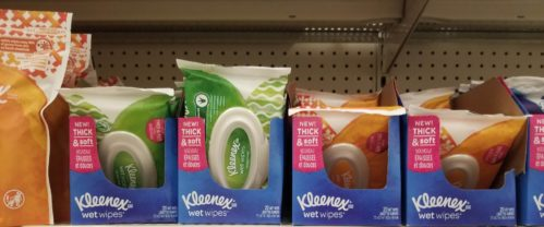 Kleenex Wet Wipes Only $0.33 at CVS!