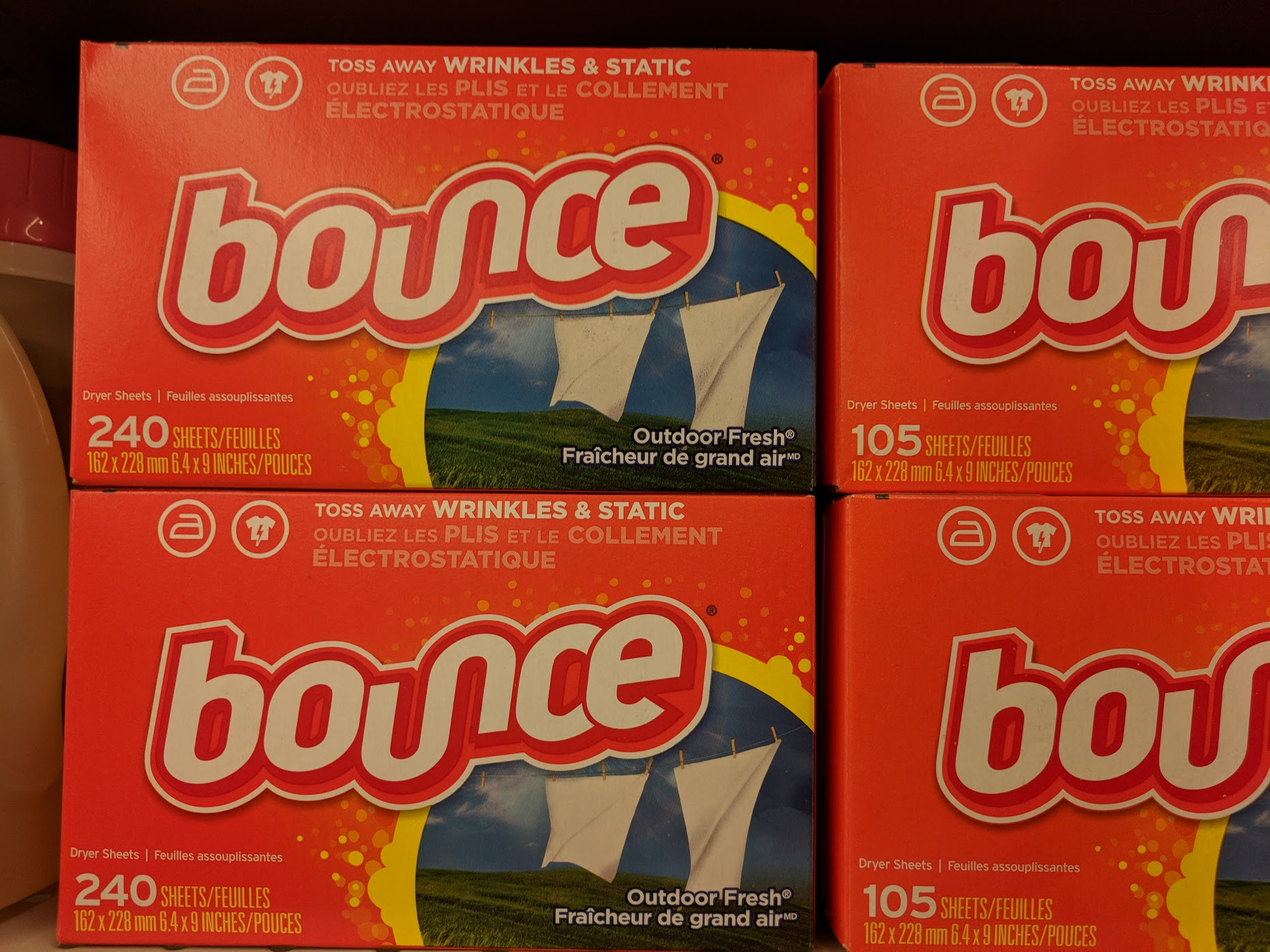 Bounce Dryer Sheets 80 ct for ONLY $0.97!! Printable Deal!!