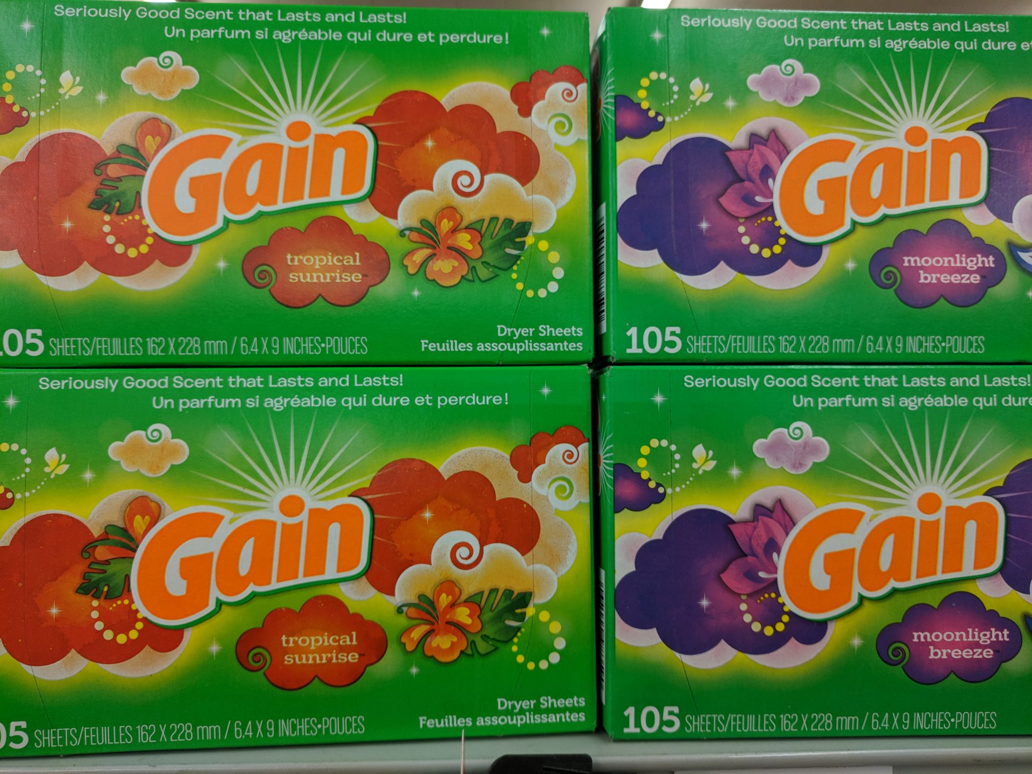 RARE Stock Up Deal on Gain Dryer Sheets at Walmart!!! Printable Deal! GO GO GO!!