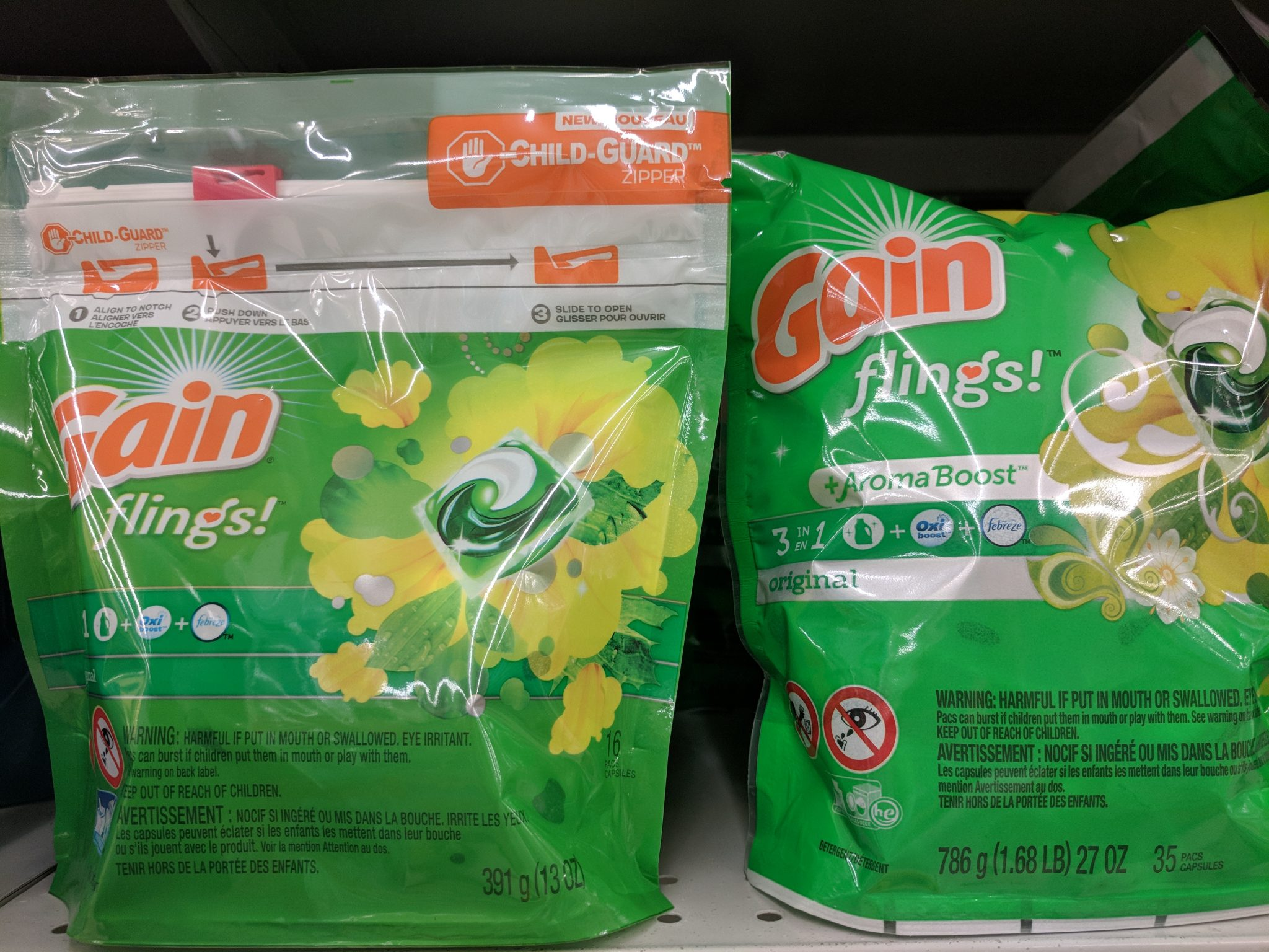 Gain Flings Deal at Walmart! Printable Coupon!!