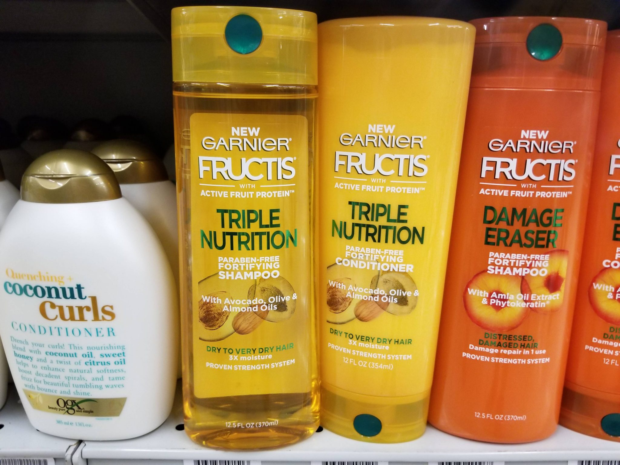 STOCK UP PRICES on Garnier Fructis Hair Care at Walgreens!