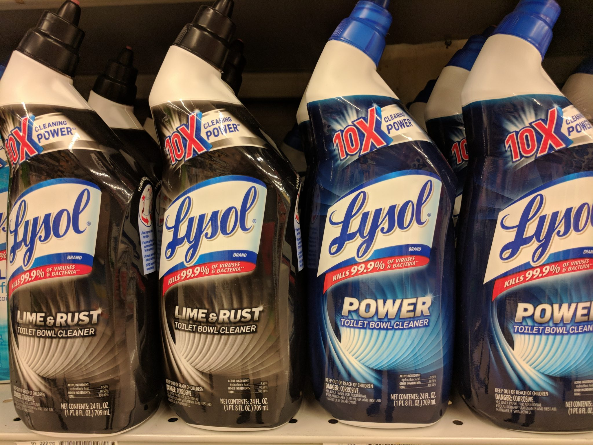 Grab Lysol Complete Clean Toilet Cleaner for PENNIES at the Dollar Tree!!