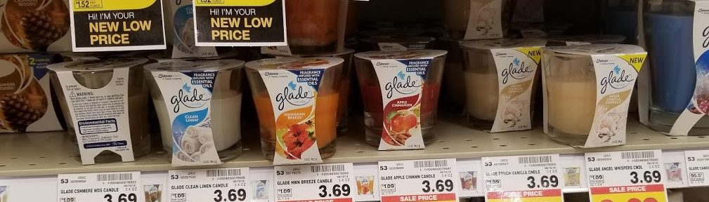 Glade Candles for $0.74 at King Soopers! Printable DEal!