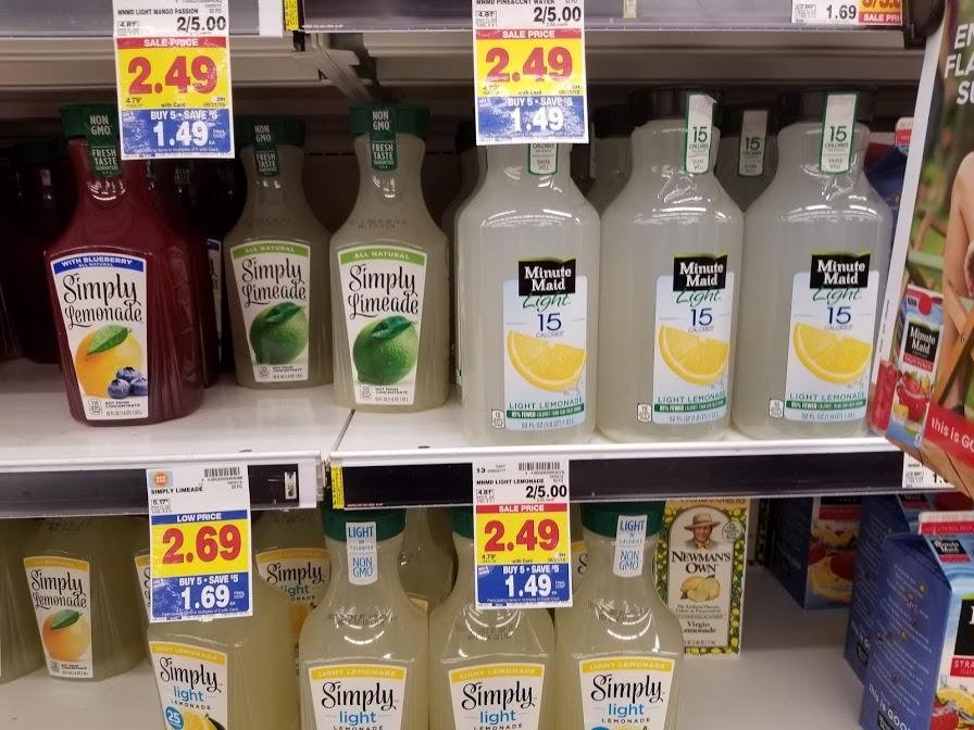Minute Maid Light Lemonade for $0.94 at King Soopers! Printable Deal!!!