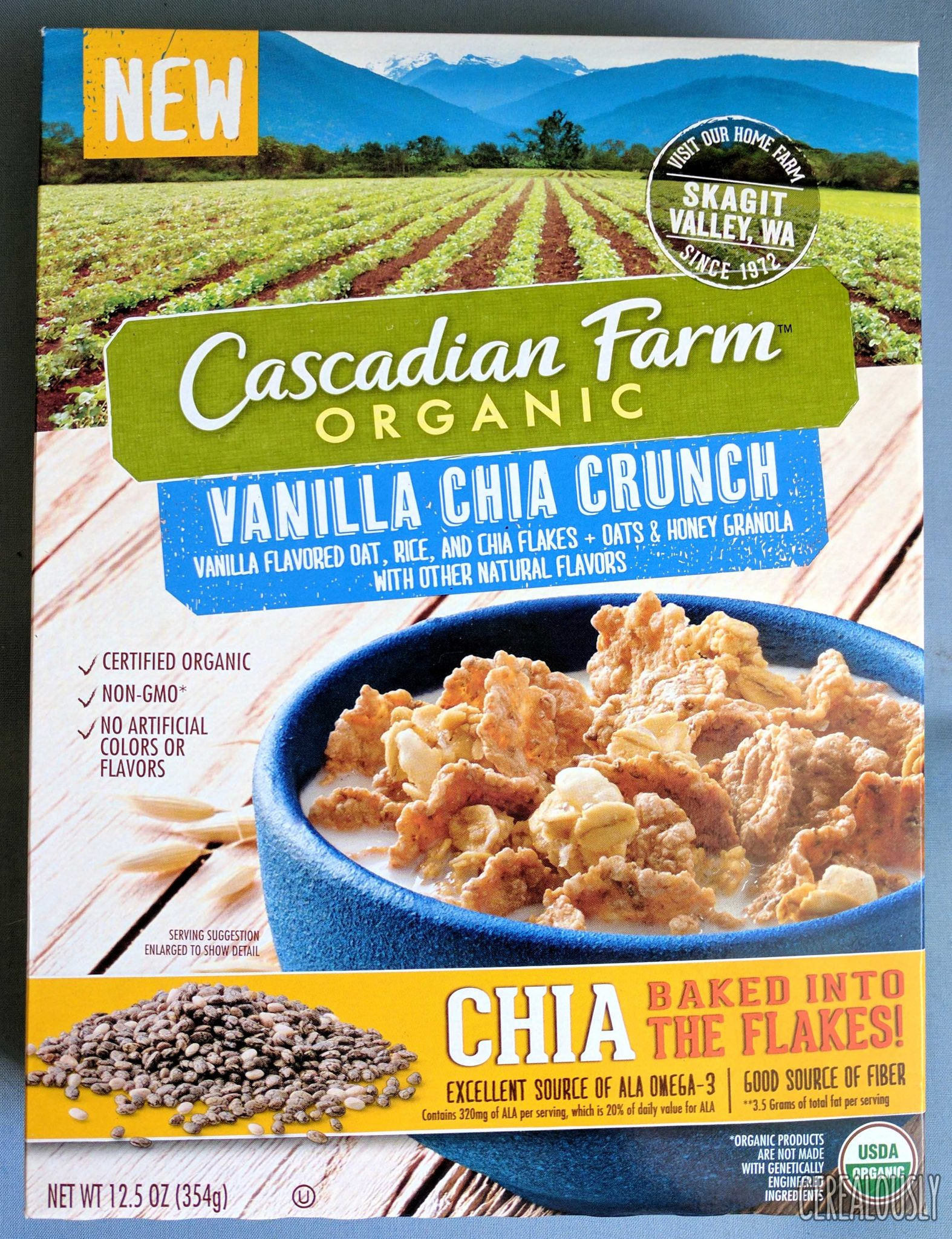 Cascadian Farm Organic Cereal or Granola Deal at Walmart!!