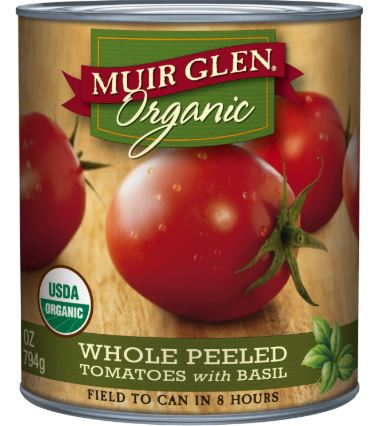 Canned ORGANIC Tomatoes are Cheaper than Regular at Safeway!!