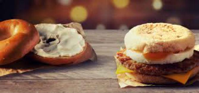 RUN! FREE Triple Breakfast Stacks Bagels and Cookies at McDonalds!