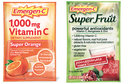Emergen-C, 10 ct Deal at Rite Aid! Printable Coupon Deal!!