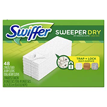 Swiffer Sweeper Dry Cloth Refills Deal at Walmart!!