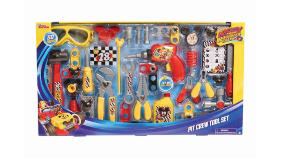 Just Play Mickey Roadster Tool Set for $6.40 (Reg. $19.99)!!! RUN!