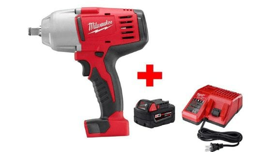 Milwaukee M18 Impact Wrench Starter Kit for Only $149.00 (Reg. $318.00)!! AMAZING DEAL!