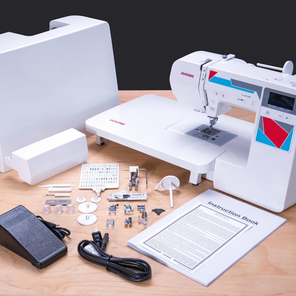 WOAH! Rare Online Deal!! Janome MOD-100Q Quilting and Sewing Machine for 59% Off! INSANE DEAL!