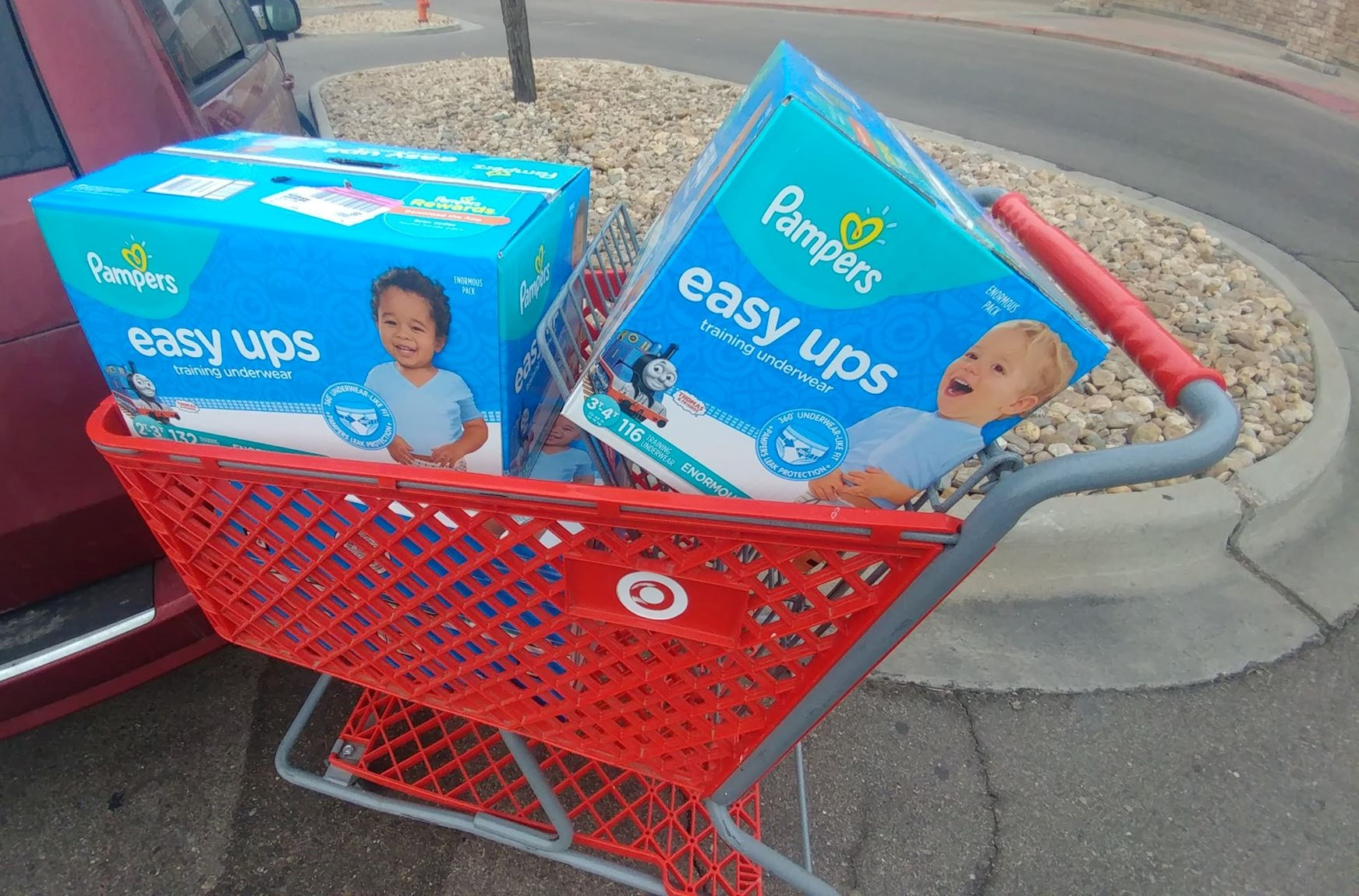 YMMV Easy Ups BIG BOX for $5.99 at Target (Reg. $39.99)! RUN!!!