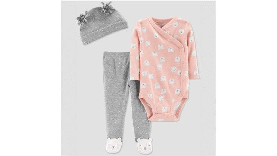 Carter's Baby Girls Flora Set with Cap for $5.49 (Reg. $10.99)!!
