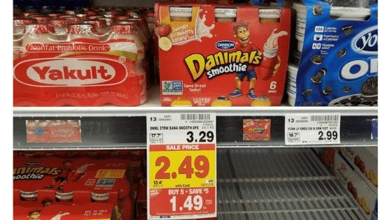 Danimals Smoothie for $1.49 at King Soopers! No Coupons Needed!