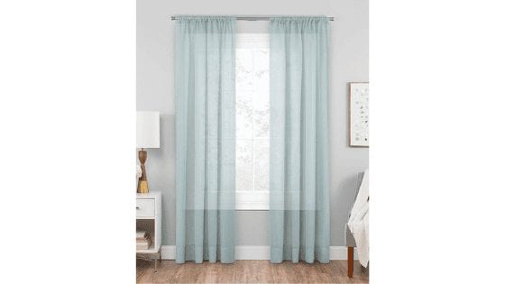 INSANE DEAL! Voile Rod Pocket Window Panel for $4.99 (Reg. $17.00)!
