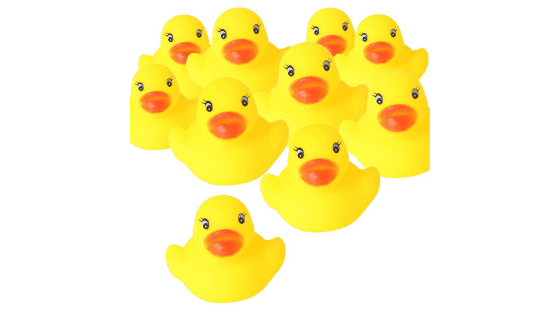 60 Rubber Ducks