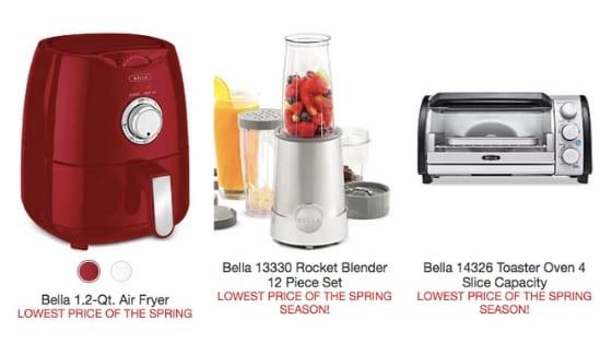 Macy's Small Appliance SUPERDEAL – These Are Only $8.99!!!