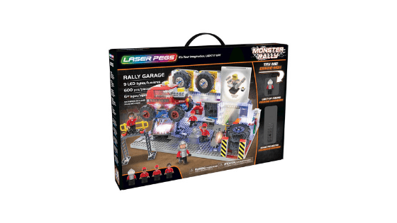 Laser Pegs Rally Garage Light Up Building Block Playset 600 Pc for $25.00 (Reg. $79.99)!!