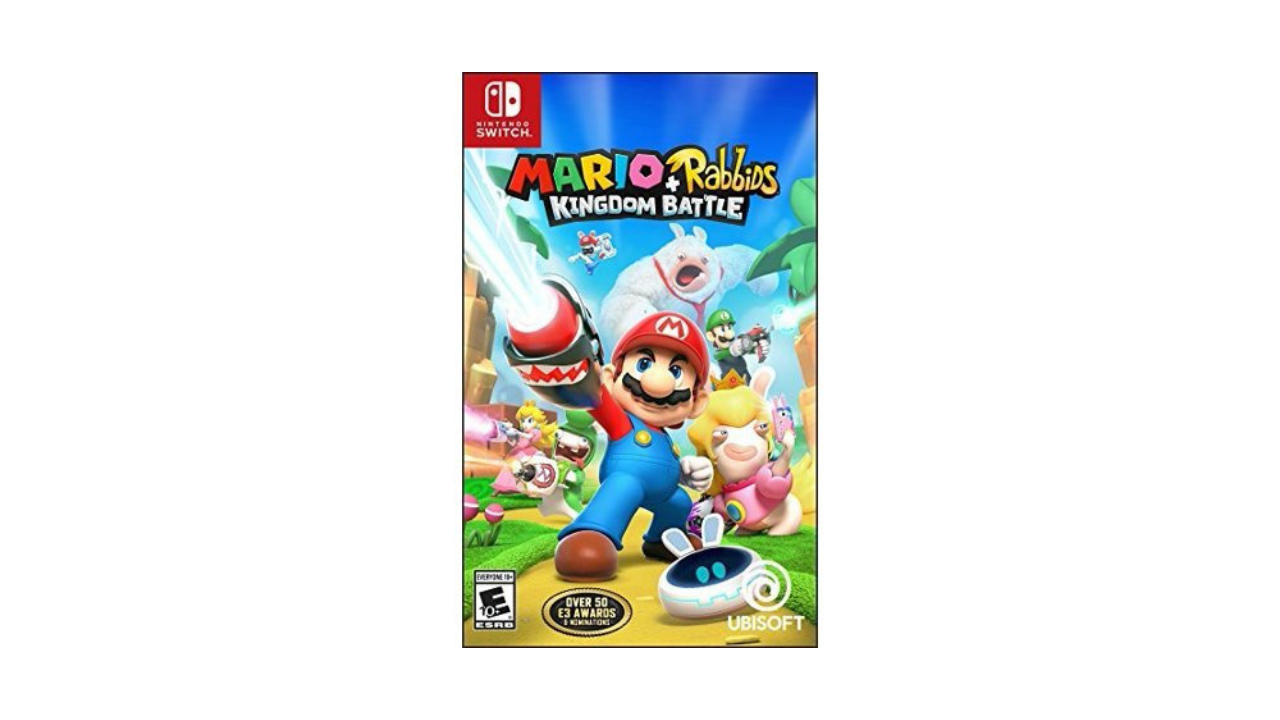 Mario+Rabbids Kingdom Battle Nintendo Switch Game for $19.99 (Reg. $59.98)