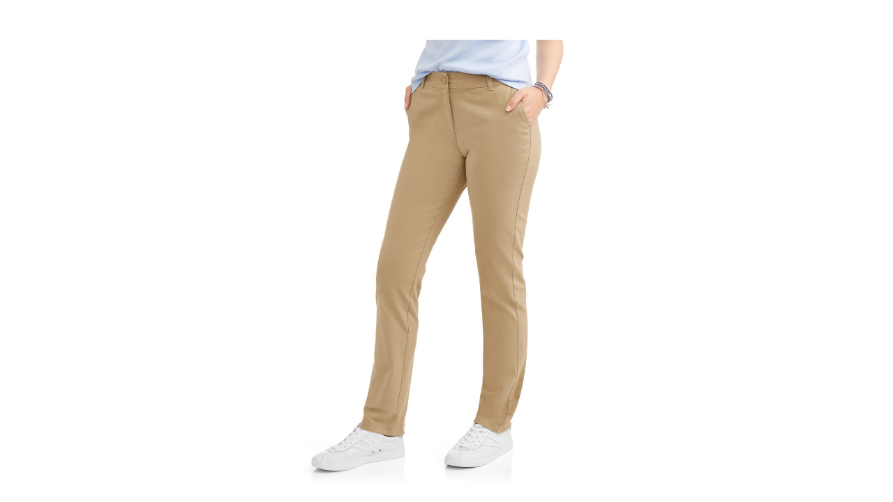 Wonder Nation Juniors Uniform Stretch Skinny Pants on Clearance at Walmart.com for $10.00!