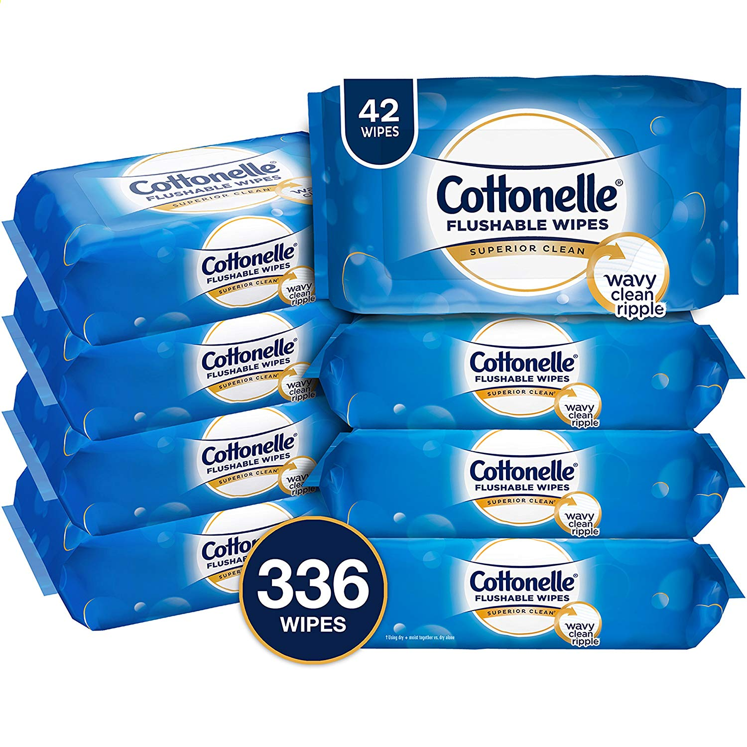 RUN! Cottonelle FreshCare Flushable Wipes 8 Pk for $8.54 (Reg. $14.99) on Amazon!