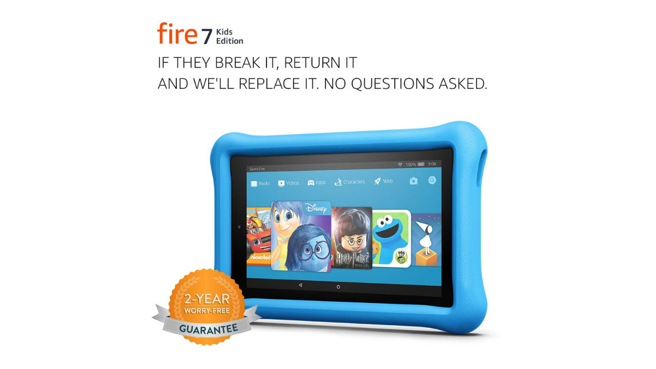 HUGE Savings on Fire 7 & 8 Kids Edition Tablet! GOOOOOOO!