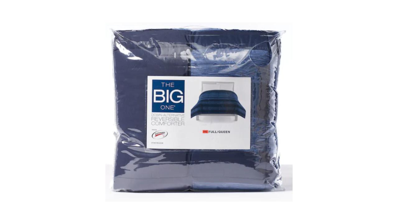 The Big One Down Alternative Reversible Comforter for $39.99 (Reg. $99.99)