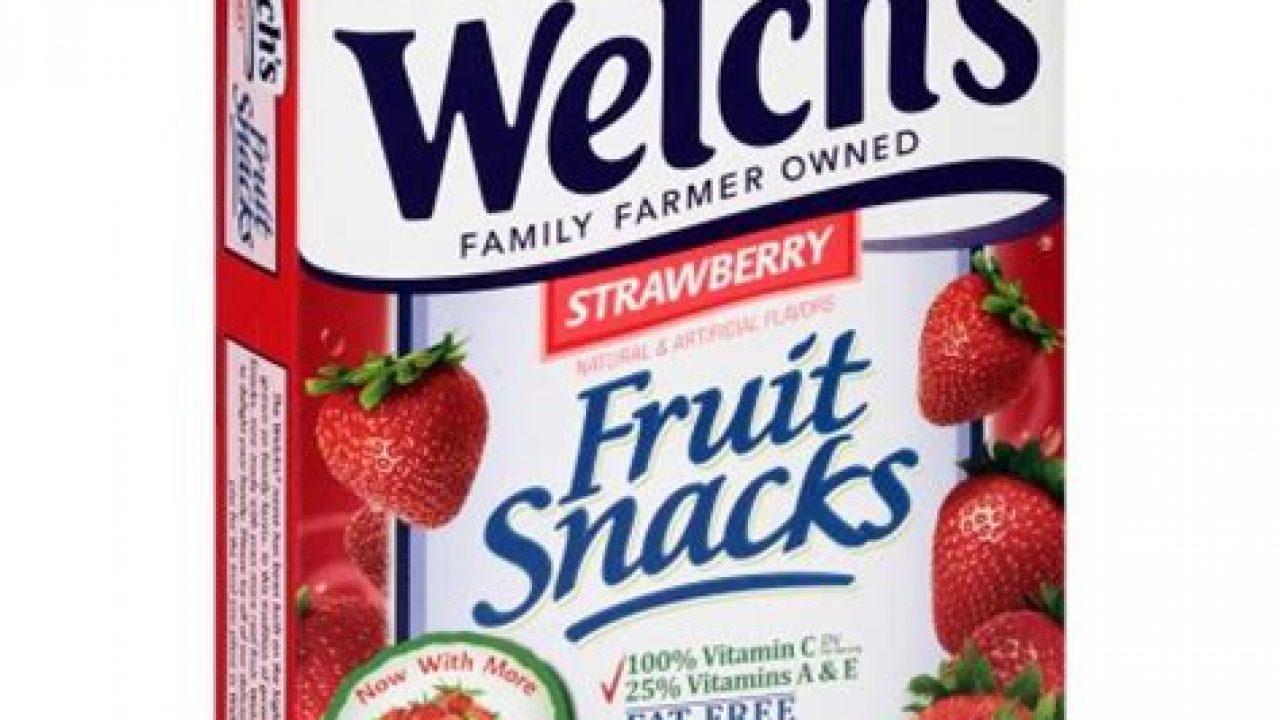 Welchs fruit snacks